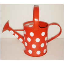Polka Dot Watering Can