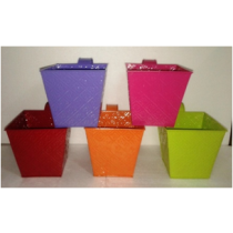 Square Planter with Handle