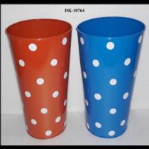 Round Polka Dot Vase