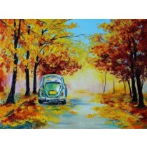 STUDIO APF Canvas Painting(36 inch x 48 inch)