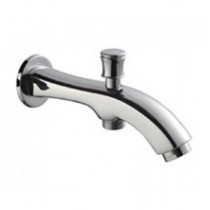 Bath spout with tip ton