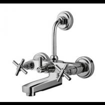 wall mixer with hand shower arrangement (crutch)