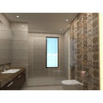 Bathroom Design - Floral tiles