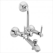 "3 IN 1 Wall mixer with ""L"" bend"