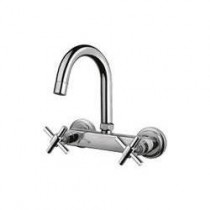 sink mixer with swivel spout (wall mounted)
