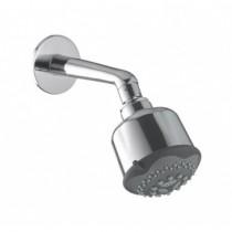 5 flow overhead shower