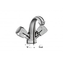 Center hole basin mixer w/o popup waste