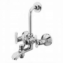 """3 IN 1 Wall mixer with """"L"""" bend"""