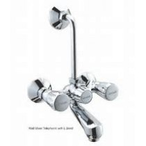 """wall mixer telephonic with """"L"""" bend"""