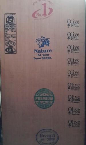 Olive Green Block Board